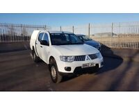 MITSUBISHI L200 4WORK LB DCB DI-D 4X4 ,2012 REG 62,DRIVES PERFECT