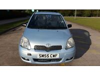 TOYOTA YARIS 2006-55 plate, Diesel 1,36 cc only 58k mileage / sun roof and 2 previous lady owner