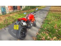 Ducati Monster 796 Red, Heated Grips, Looked After