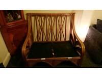Free Wicker 2 seater sofas