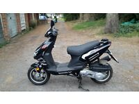 lexmoto tornado 125cc only 879 miles. Small scratch on left side but otherwise in good condition.