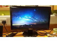 99% new BenQ 21.5 inch LED Full HD Monitor (GL2250HM: HDMI, DVI, Speakers) - PC,PS4,XBOX