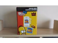 Brand New the Simpsons Freezer Mug, Coaster and Keyring Gift Set for Sale