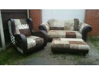 Dfs patchwork sofa suite