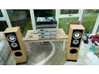 Acoustic Solutions 4 piece Hi fi system