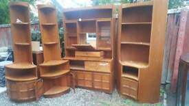 Nathan 4 piece display unit - solid wood