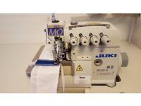 New Genuine JUKI MO-6814S – 4 Thread Overlock Industrial Sewing Machine.