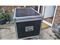 Flight case in fair condition 760mm long 510mm wide 470 mm high