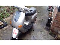 Vespa et2 2 stroke moped