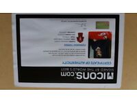 Fernando torres signed liverpool shirt in frame comes with certificate of authentication