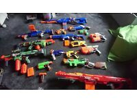 Collection of Nerf Guns. Will sell together or individually