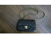 CHANEL Real Lambskin Leather Mini Quilted Flap Bag £40 (Price Includes Next Day Delivery)