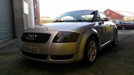 Audi TT 1.8T Quattro 180BHP Very Low Mileage and great condition. 12 months MOT