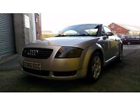 Audi TT 1.8T Quattro 180BHP Very Low Mileage and great condition. 12 months MOT. REDUCED PRICE