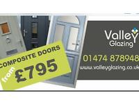 Valley Glazing - Double Glazed UPVC Aluminium French Windows & Composite Doors Installation