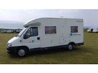 Chausson Welcome 55 Motorhome Campervan