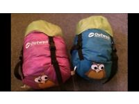 2 x Junior Outwell Sleeping Bags