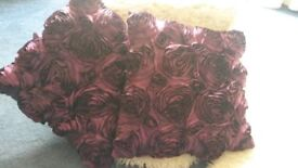 Purple Rose Cushions