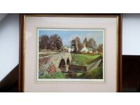 """James McIntosh Patrick Rare Limited Edition print """"The Old Toll"""""""