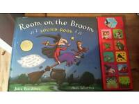 Room on the broom sounds book