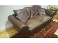 Lovely large leather sofa