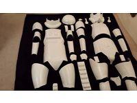 Stromtrooper armour. Complete set of full size Stromtrooper. Starwars. Superb quality suit.