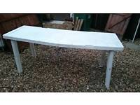 Plastic Rectangular Table