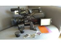 Sony HXR MC2500 shoulder mount pro grip AVCHD Camcorder