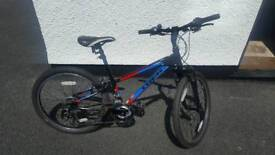 Mountain bike TREK MT220. Roughly for a 8 to 12 year old