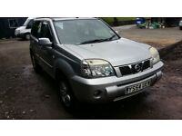 breaking silver KY0 nissan xtrail manual 4x4 parts spares nissan locking roof bars