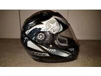 Shark motorcycle helmet, size M