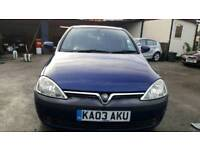 Vauxhall Corsa SXI 16V 2003 Blue 1.2 Petrol