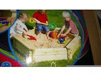 Kids sandpit,new,unopened.