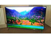 Hisense LTDN58K700 58 inch 4K Ultra HDR 3D Smart LED TV Freeview HD - Premium - Silver