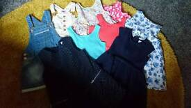Selection of girls dresses size 2-3 years