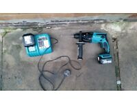 Makita LXT SDS Hammer Drill 14.4v in good condition