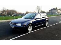 Vw Golf 1.9Tdi match 2owners long mot