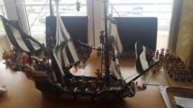 Vintage lego pirate ship