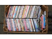 Job Lot of DVD's £10 per Box (Two Available)