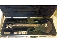 Ernie Ball Musicman JP6 Mystic Dream Guitar + Piezo Pickup (like new)
