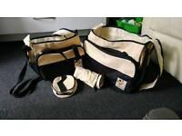 Changing bag set