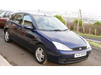 Ford Focus 2004 very clean ,Low mileage 78 925, almost full MOT