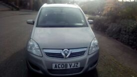 VAUXHALL ZAFIRA DESIGN 1.9 CDTI 6 GEAR MANUAL FOR SALE