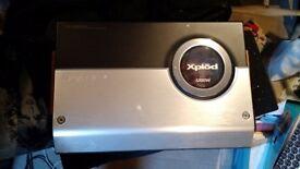 Sony Xplod 1200w Amplifier XM-2002GTW