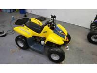A wee 50cc quad