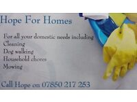 Honest, reliable and cost efficient domestic help for all your household needs