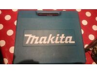 For sale used makita jigsaw with carry case
