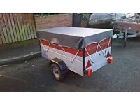 SMALL TRAILER AS GOOD AS NEW. (CAN DELIVER)