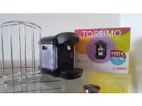 Tassimo Vivy multi beverage machine with disc holder