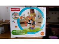 Fisher price musical bouncer brand new